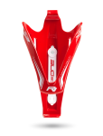 Bottle Cage X3-Race Glossy Red - Front